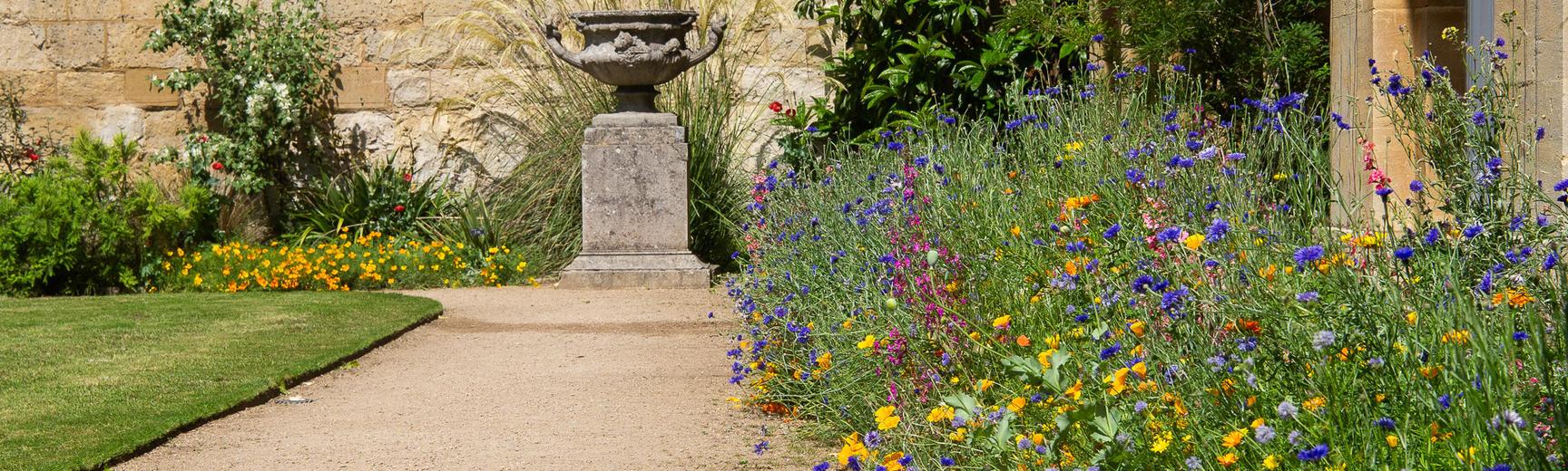 event lawn beds oxford botanic garden