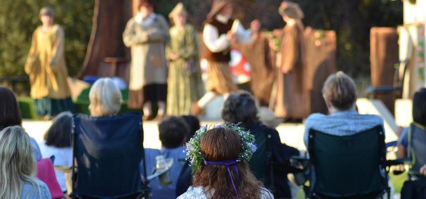 harcourt arboretum  outdoor theatre  events
